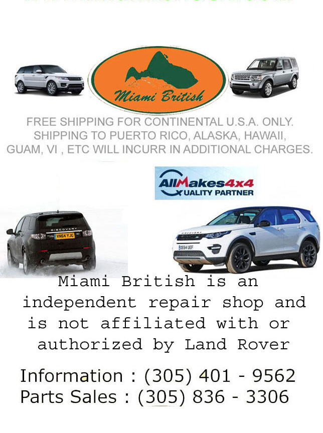 akebono landrover brake rover for shoes car range rear pad truck b s fits bn ebay land sport rr set pads